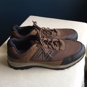 New Balance men's brown sneakers sz 14